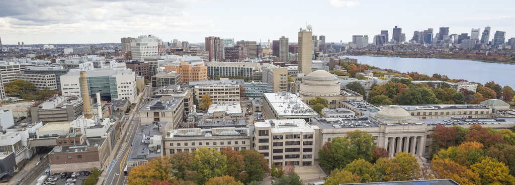 Aerial view of MIT